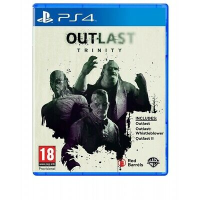 Outlast Trinity PS4 Game |  - New Game