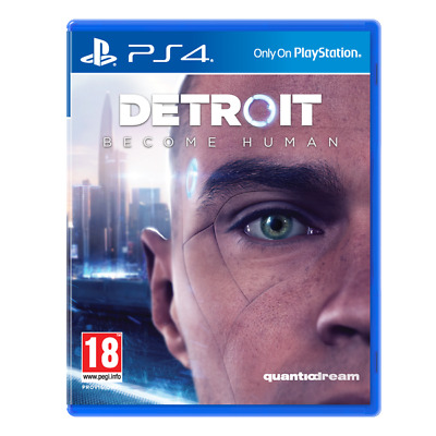 Detroit Become Human PS4 Game | PlayStation 4 - New Game