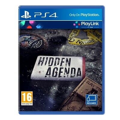 Hidden Agenda PS4 Game (PlayLink) | PlayStation 4 - New Game