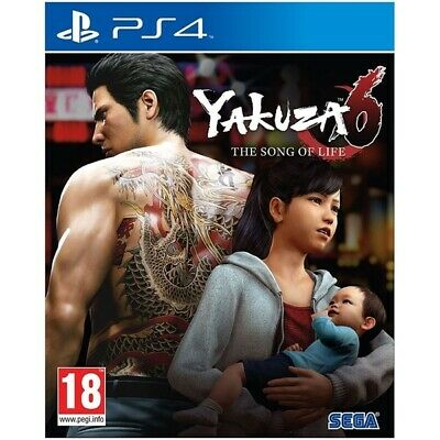 Yakuza 6 The Song Of Life Essence Of Art Edition PS4 Game |  - New Game