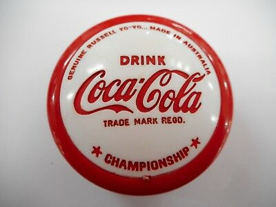 Things Go Better With Coke Championship Red Rimmed Yoyo