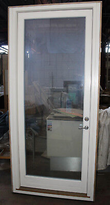 Solid Timber Double Glazed Entrance / Back Door, Made in Scandinavia, Ex-Demo