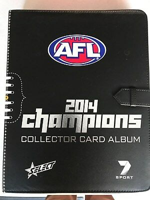 2014 AFL Champions Football Cards - Basic Set in Album