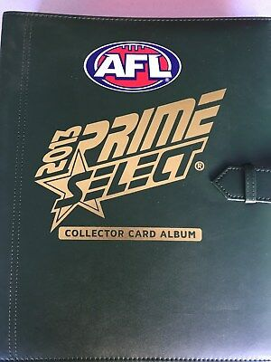 2013 AFL Prime Select Football Cards - Basic Set in Album.