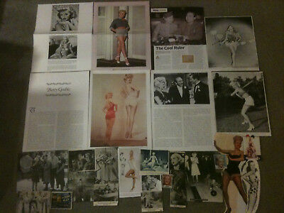 BETTY GRABLE - Over 20 clippings