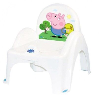Baby Toilet Potty Chair With Melodies Toddler Kids Training Seat Peppa Pig Blue