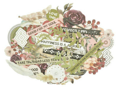 *A&B* KAISERCRAFT Scrapbooking Collectables - Gypsy Rose - CT941
