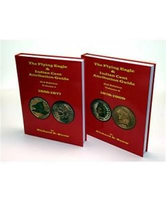 The Flying Eagle and Indian Cents Attribution Guide Vol 1 & 2 1856-1909 3rd Gift