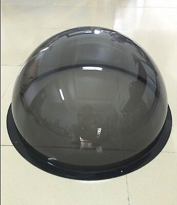 Diameter 100-300mm Acrylic PMMA Smoked Black Dome Shape Dust Cover Select Size