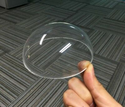 Diameter 100-300mm Acrylic PMMA Clear Dome Shape Rimless Dust Cover Select Size