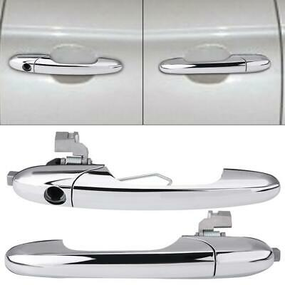 Metal Chrome Right-Hand Drive Vehicles Exterior Outer Door Handle for Fiat 500