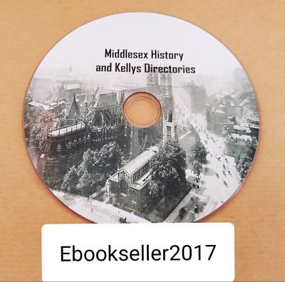 ebooks 35 of Middlesex history in pdf and kelly/'s local directories pdf on disc
