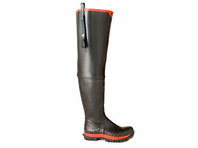 Skellerup Super Safety Waders size UK 6-12 (EUR 40-47) Watstiefel mit Stahlkappe