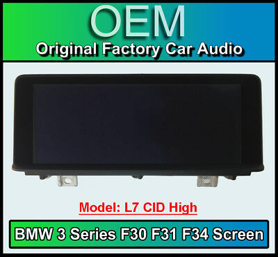 BMW 4 Series Sat Nav display screen, BMW F32 F33 F36, L7 CID High monitor