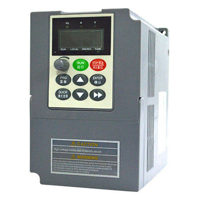 3KW 380V 4HP VFD VARIABLE FREQUENCY DRIVE INVERTER 6A 400Hz VC Vector Control