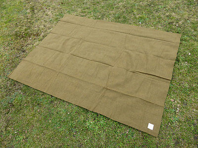 US ARMY M-1934 Wool virgin Blanket OD Depot Wolldecke  Decke Depotware