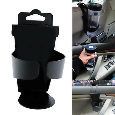 Black Universal Vehicle Car TDruck Door Mount Drink Bottle Cup Holder Stand  TD
