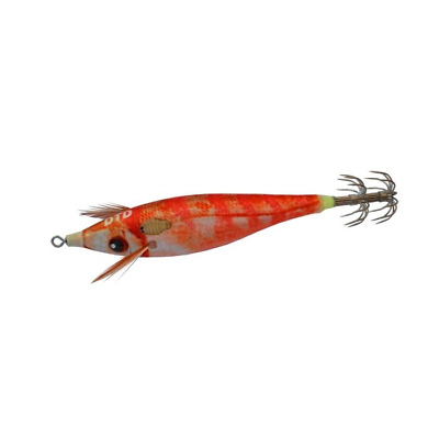 SQUID JIG DTD REAL FISH 2.0 65mm 8g COLOUR RED PORGY GLOW