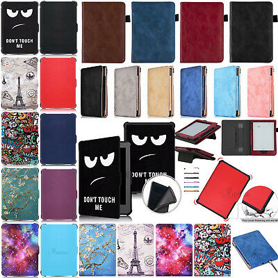 For kobo clara HD Shockproof Ultra-thin Magnetic Leather+TPU Smart Case Cover