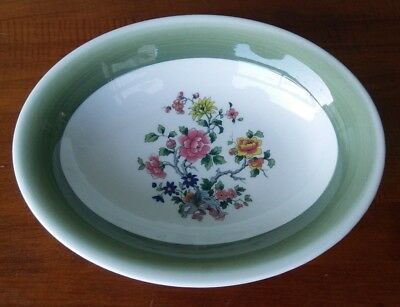 4 Vintage MAYER CHINA LAWSON BOWLS PLATES PINK YELLOW FLOWERS RESTAURANT WARE