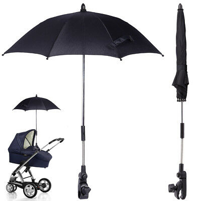 New Baby Parasol/Umbrella/Sun Protector With Flexible Arm Fits Most Prams