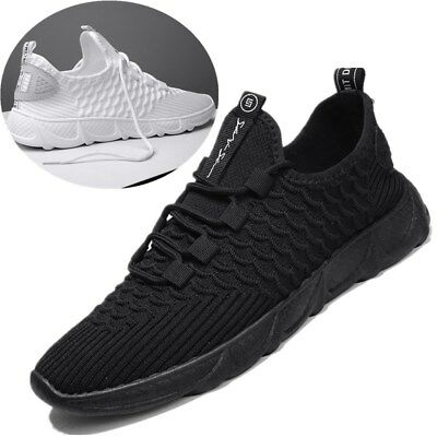 Mens Running Trainers Breathable Absorbing comfy Skateboarding Shoes Sport Size