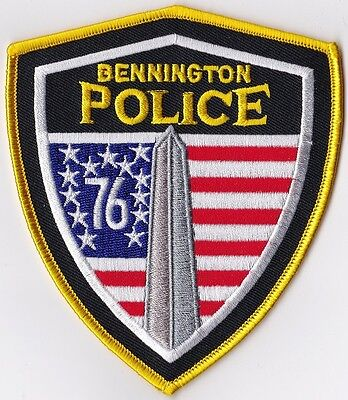 Bennington Police Patch Vermont VT