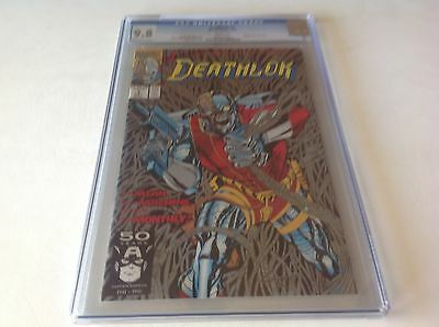 Deathlok 1 Cgc 9.8 White Pages Very Nice Metallic Silver Ink B Marvel Comics