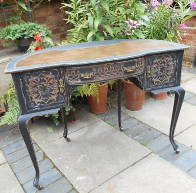 Victorian  Painted / Distressed   Writing  Desk