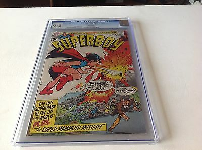 Superboy 167 Cgc 9.4 White Pages Neal Adams Superbaby Dc 1970 Dc Comics