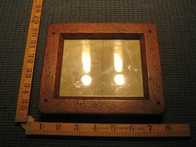 Vintage Antique Wooden Photographic Plate Holder Upcycle Retro Picture Frame