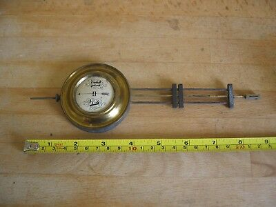 Vintage Clock Adjustable Pendulum Weight - Approx 90 grams - Spares Repair
