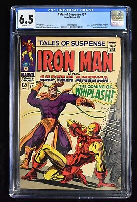 1968 Iron Man Tales of Suspense #97 1/68 Marvel Comics Group CGC Graded 6.5