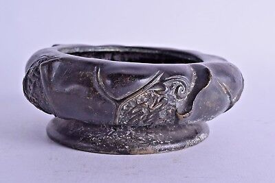 good chinese 18th century bronze censer incense burner qianlong marks qing