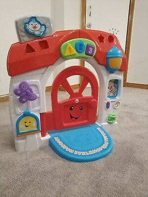 Fisher-Price Laugh & Learn Puppy Smart Home - Used