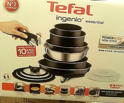 Tefal L2009142 Ingenio Essential 13 Piece Pan Set