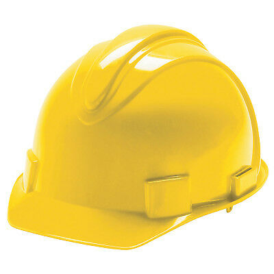 Charger Hard Hats, 4 Point Ratchet, Yellow