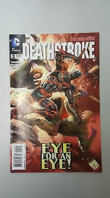 DC Comics: Deathstroke #2 - New 52 - (2015) - BN - Bagged & Boarded