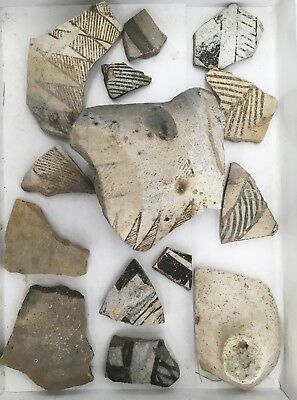 Genuine New Mexico Pottery Shards - Historic American Indian Artifacts