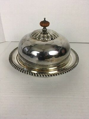 Birks Regency E. P. Copper Silver Plated Covered Dish Bowl (Canada) 259