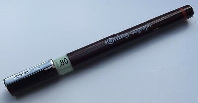 ROTRING ISOGRAPH TECHNICAL DRAWING PEN - 0.8mm  NIB SIZE - NEW
