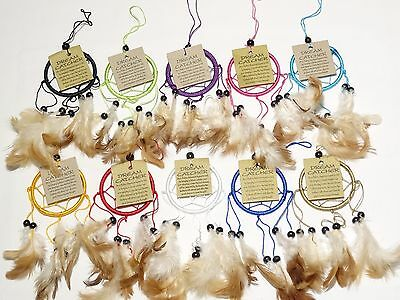 Lot de 10 Attrape Rêve Capteur Attrapeur de Rêves /Dream Catcher Dreamcatcher