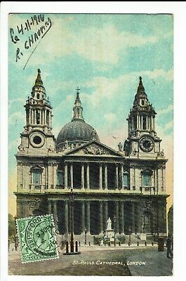 CPA - Carte postale -Royaume uni - London- St Paulus Cathedral-1910 -S1135