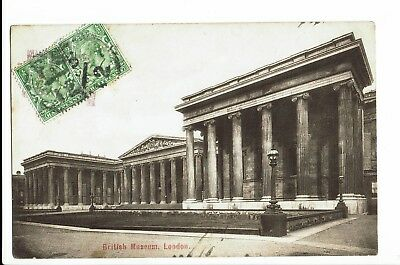 CPA - Carte postale -Royaume uni - London- Brittish Museum -1908 -S1136