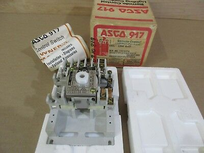 New ASCO 917 Remote Control Lighting Switch FREE SHIPPING!