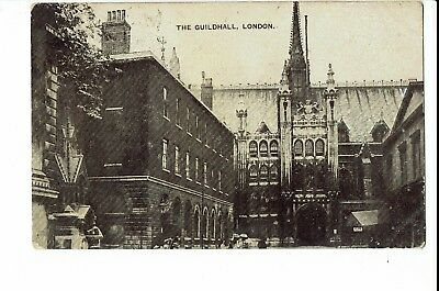 CPA - Carte postale -Royaume uni - London -The Guildhall -1908 -S1140