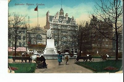 CPA - Carte postale -Royaume uni - London -Leicester Square -1912-S1141