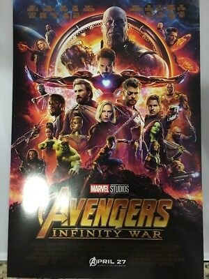 AVENGERS INFINITY WAR MOVIE POSTER LOT ANT-MAN & THE WASP 13x19