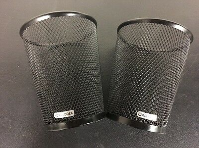 Two (2) ROLODEX JUMBO PENCIL Cups