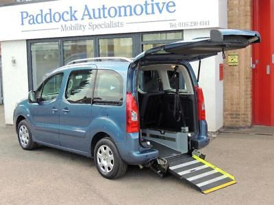Peugeot Partner 1.6 HDi Tepee Disabled Wheelchair Adapted Vehicle WAV